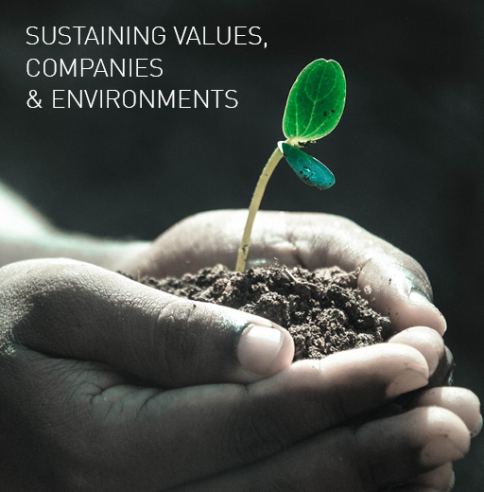 Sustaining values, companies and environments