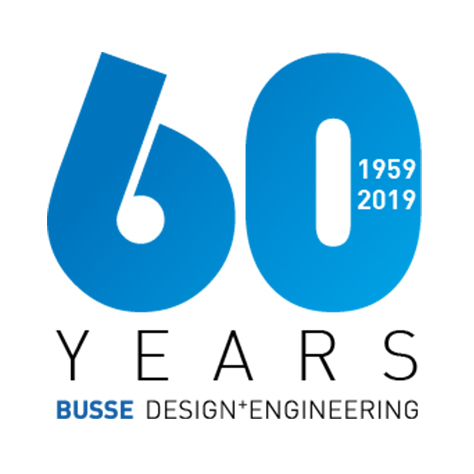 60 Years BUSSE Design+Engineering