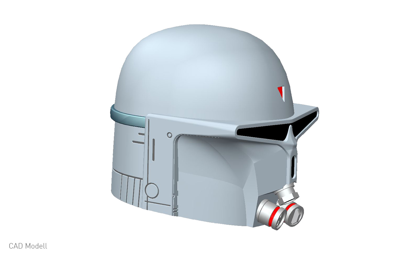 Der einzigartige Helm des Kopfgeldjägers Boba Fett von Star Wars-Fan ...