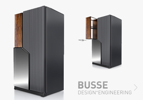 BUSSE Design+Engineering Refrigerators