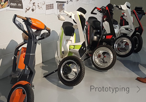 THE UJET ELECTRIC SCOOTER