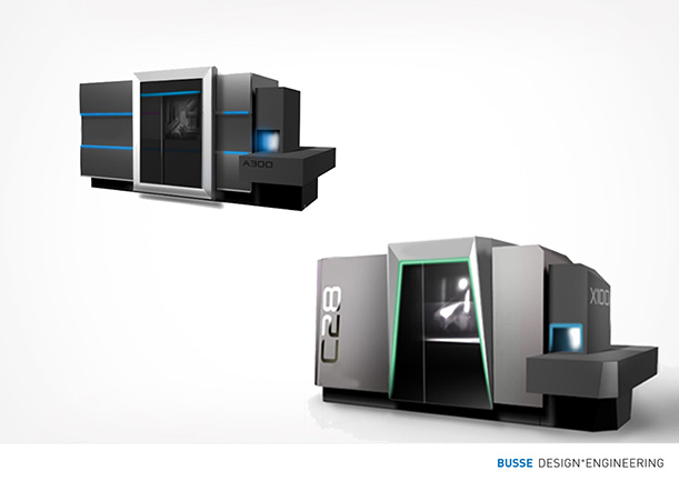 Design study machining center