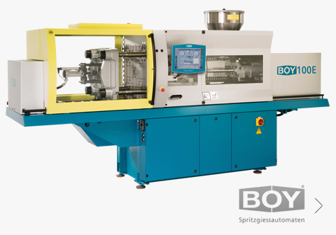 Boy Injection moulding machines
